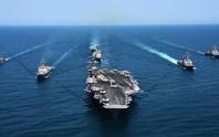 Video hoạt động của biên đội tàu sân bay Mỹ đang đến Đà Nẵng