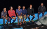 6 ngư dân tàu cá bị tàu Trung Quốc tông chìm về đến đất liền kể gì?