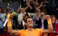 Vào tứ kết Madrid Open, Nadal phá thêm 1 kỷ lục