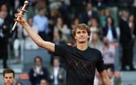Ngôi vô địch Madrid giúp Zverev tự tin đến Rome