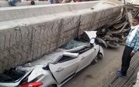 Ấn Độ: Sập cầu vượt đang xây, 18 người chết