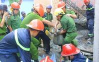 Xác định 4 người thương vong trong vụ sập sàn bê- tông kinh hoàng