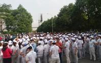Gần 1.000 công nhân Công ty TNHH Nidec Sankyo Việt Nam ngừng việc