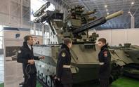 Hàng độc trong lễ diễu binh ngày chiến thắng của Nga