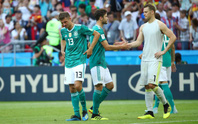 Đương kim vô địch Đức bị loại
