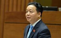 Bộ trưởng TN-MT Trần Hồng Hà ngồi ghế nóng trả lời chất vấn