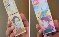 Lạm phát 1 triệu %, Venezuela xóa 5 số 0 trên tờ tiền