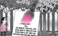 Tây Ninh: Bị lôi ra tòa vì... đốt rác 12 ngày đêm
