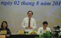 Bộ trưởng Bộ GD-ĐT thừa nhận đề thi khó và có kẽ hở trong bảo mật thi THPT