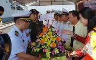 Tàu Hải quân Hàn Quốc lần thứ hai thăm TP Đà Nẵng