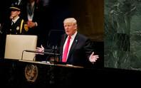 Ông Trump phát biểu tại LHQ, bất ngờ có tiếng cười khúc khích