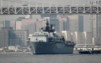 Tàu chiến Anh thách thức Trung Quốc ở biển Đông