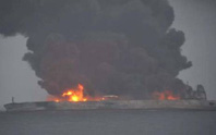 Tàu chở dầu đụng tàu hàng trong đêm, 32 người mất tích