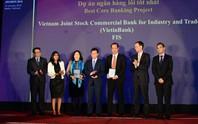 The Asian Banker trao 3 giải thưởng cho VietinBank
