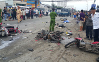Tai nạn kinh hoàng ở Long An: Hơn 20 người thương vong