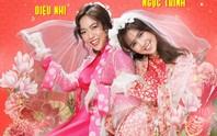 Ngọc Trinh, Diệu Nhi rực rỡ trong đám cưới miền Tây