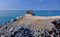 Dự án lấn biển Vũng Tàu làm thủy cung vẫn triển khai ồ ạt
