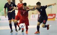 Futsal Việt Nam tiếp tục bị Thái Lan lấn lướt