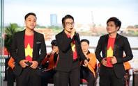 Gala trao giải Hát vì đội tuyển: Sôi động tiếng hát, giao lưu thú vị