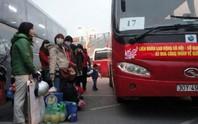 Hà Nội: Hỗ trợ xe đưa 1.600 công nhân về quê đón Tết