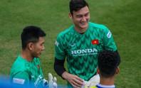 Văn Lâm rạng ngời trong ngày trở lại đội tuyển
