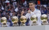 Ronaldo được truyền thông Ý trao sớm Quả bóng vàng 2019