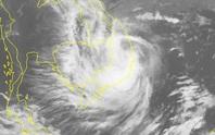Bão số 6 sau khi đổ bộ vào Bình Định-Phú Yên-Khánh Hòa, đã suy yếu