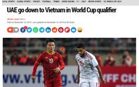 Báo chí UAE nể phục các cầu thủ tuyển Việt Nam
