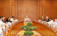 Cận cảnh Tổng Bí thư, Chủ tịch nước chủ trì họp Thường trực Ban Chỉ đạo Trung ương Phòng chống tham nhũng
