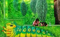 Lịm tim với những bức bích họa đầy màu sắc ở Chử Xá
