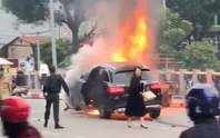 Vụ xe Mercedes gây tai nạn thảm khốc làm 1 người tử vong: Nữ tài xế tới công an trình diện