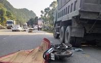 Tông vào đuôi xe tải dừng ven đường, nam thanh niên tử vong tại chỗ