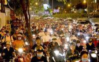 Cấm xe nhiều tuyến đường khu trung tâm TP HCM
