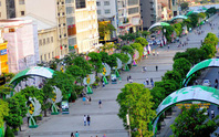 Đường Nguyễn Huệ cấm xe 3 đêm cuối tuần