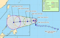 SEA Games 30: Bão hướng vào Philippines có khả năng thành siêu bão