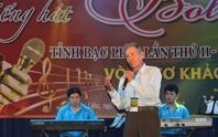 Cụ ông 91 tuổi hát rất ngọt tại Hội thi Tiếng hát Bolero tỉnh Bạc Liêu