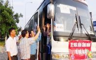 Bình Phước: Hỗ trợ xe đưa công nhân về quê đón Tết