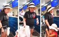 Nữ đại úy công an gây náo loạn tại sân bay Tân Sơn Nhất sẽ bị giáng cấp xuống trung úy