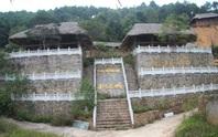 Cận cảnh công trình bí mật trên núi ở Lạng Sơn nghi là phim trường của nhóm người Trung Quốc