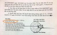 Tử tù Hồ Duy Hải chưa nhận được kháng nghị của VKSND Tối cao?