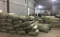 Bắt quả tang vụ nhập lậu hơn 100 tấn dược liệu từ Trung Quốc làm thuốc bắc