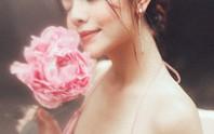Rũ bỏ hình ảnh buồn bã, Phạm Quỳnh Anh khoe nhan sắc  nàng tiên hoa đón xuân