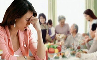 Khi vợ muốn về nhà ngoại đón Tết