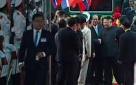 Vừa đến Việt Nam, Chủ tịch Kim Jong-un đã nói lời Cảm ơn Việt Nam!