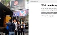 Website, Fanpage của Nhật Cường Mobile đồng loạt biến mất