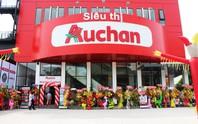 Chuỗi siêu thị Auchan khuyến mãi dọn kho trước ngày đóng cửa