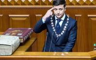 Tân Tổng thống Ukraine ủng hộ trừng phạt Nga từ lúc nhậm chức
