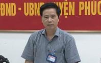 Một bí thư huyện ở Hà Nội bị cách tất cả chức vụ trong Đảng