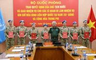 Thêm 7 sĩ quan Việt Nam đi gìn giữ hòa bình Liên Hiệp Quốc