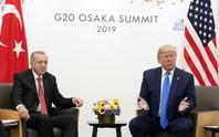 """Hệ thống phòng thủ Nga """"chiếm sóng"""" cuộc gặp Mỹ-Thổ Nhĩ Kỳ"""